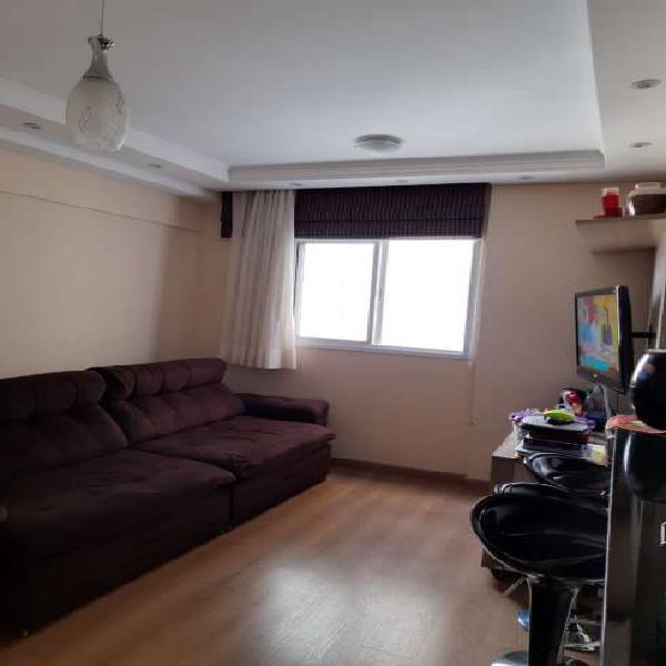 Apartamento 2 dorms com móveis planejados, 1 vaga coberta