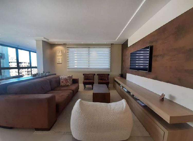 Apartamento alto padrão, pronto para morar em cidade alta -