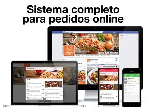 Aplicativo pedidos online entregas