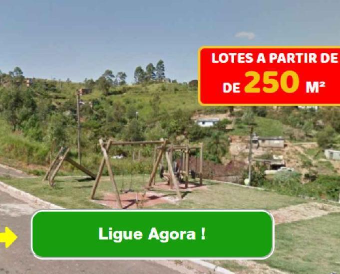 Atenção nesta incrível oferta para terrenos de 250 m2
