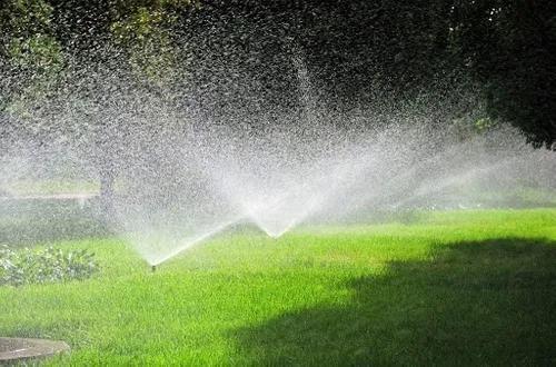 Automatização de irrigação de jardins paisagismo.