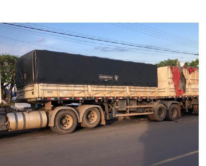 Bitrem graneleiro randon 2014 7,10 mts