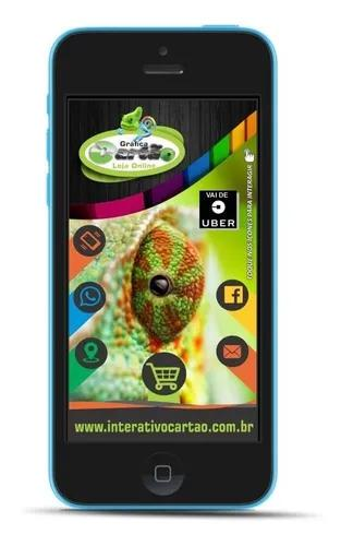Cartão digital interativo personalizado