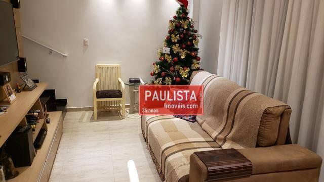 Casa com 2 dormitórios à venda - marapé - santos/sp