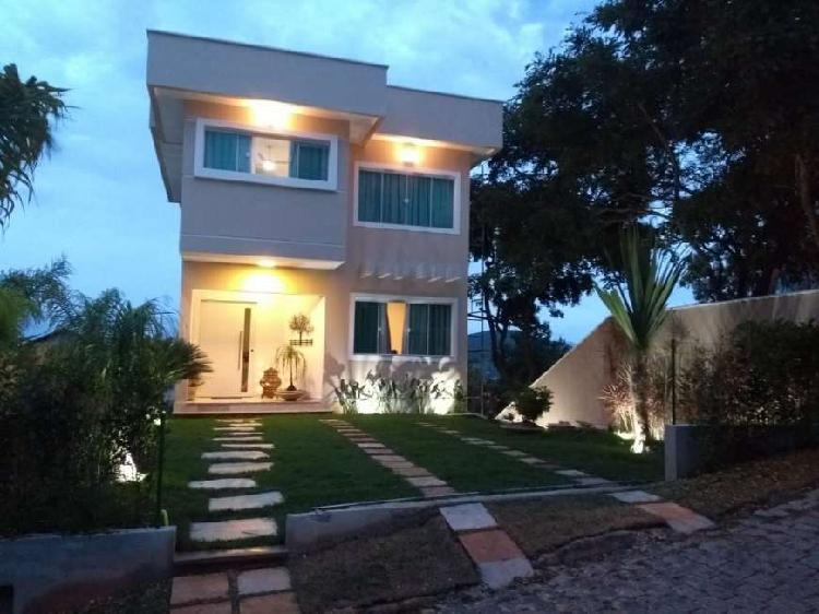 Casa de condomínio para venda com 188m² com 3 quartos,