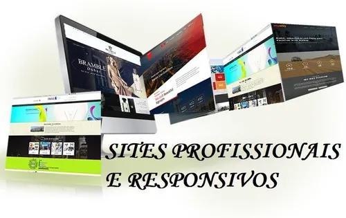 Criação de site moderno e responsivo + hospedag