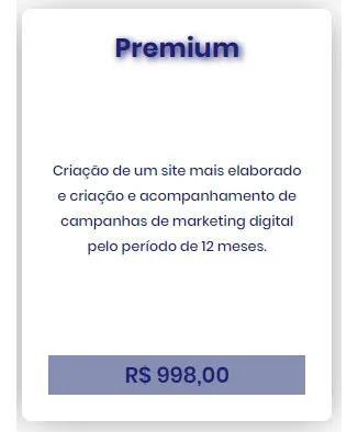 Criação de sites e campanhas de marketing digital