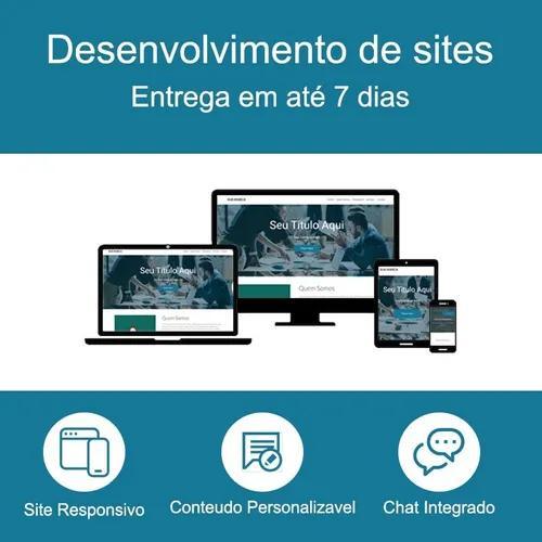 Criação site responsivo institucional