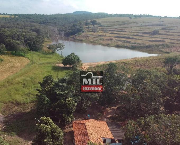 Fazenda 38 alqueires (183 hectares) pires do rio-go
