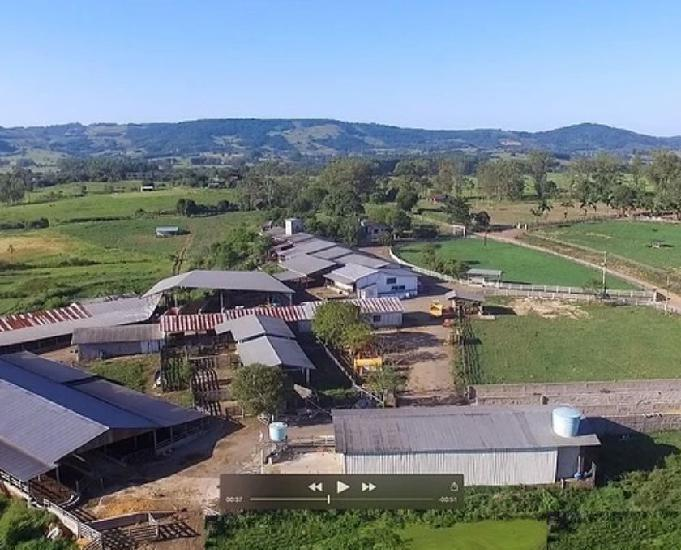 Fazenda empresa de 263 ha em taquara rs