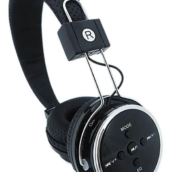 Fone de ouvido bluetooth wireless micro sd