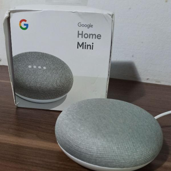 Google home mini caixa de som inteligente