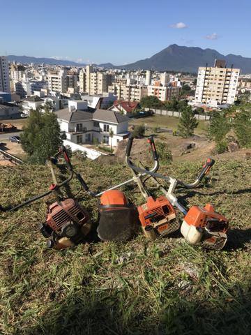 Jardinagem e limpeza e manutenção de terrenos