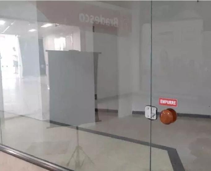 Loja comercial 27 m² em centro comercial de guadalupe rj