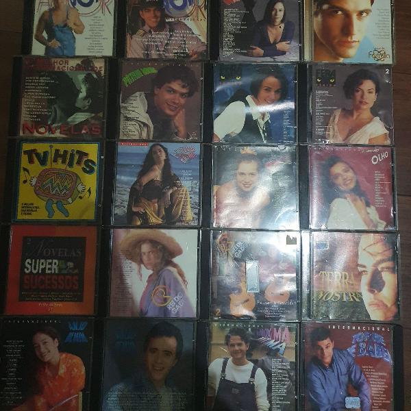 Lote cds originais de novelas