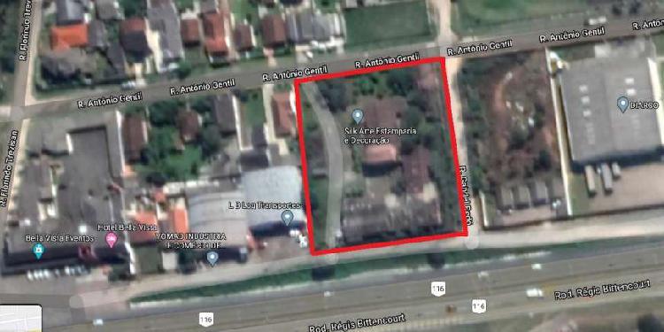 Lote/terreno para venda tem 5440 metros quadrados em