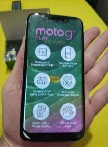 Moto g7 play - troca