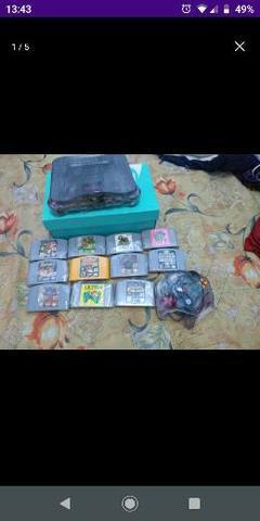 Nintendo 64 edição sabores jabuticaba