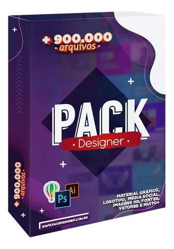 Pack designer +900 mil arquivos