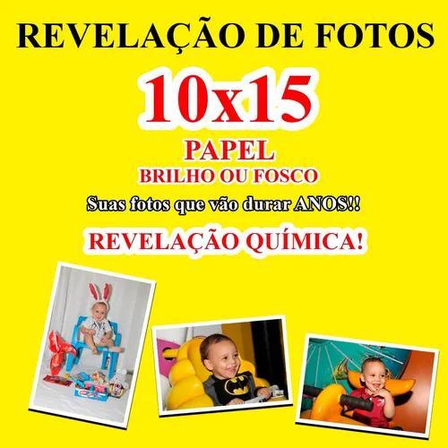 Revelação digital de fotos 10x15