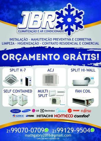 Serviços especializados de climatização e ar condicionado