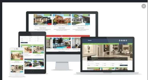 Site imobiliária wordpress responsivo