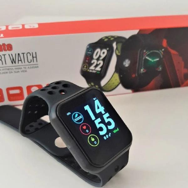Smartwatch f8 preto manual e caixa português