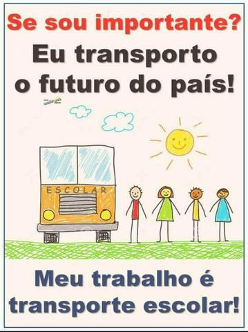Transporte escolar segurança e preço justo!!!