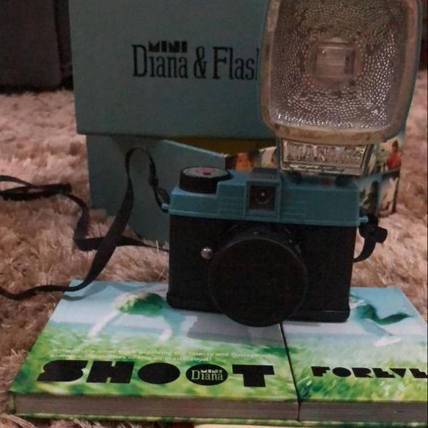 Camera analógica diana f mini raridade