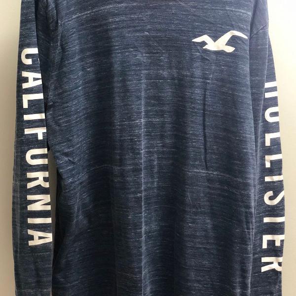 Camisa manga longa hollister
