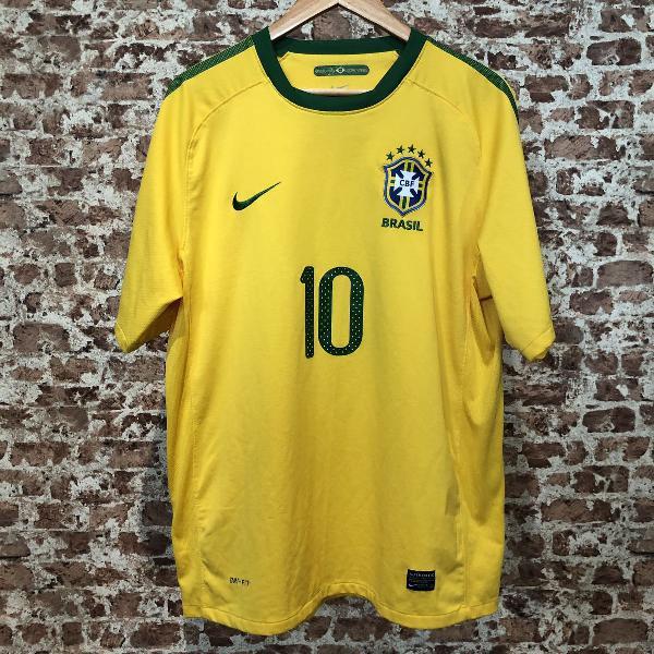 Camisa oficial seleção brasileira 2010 tamanho g
