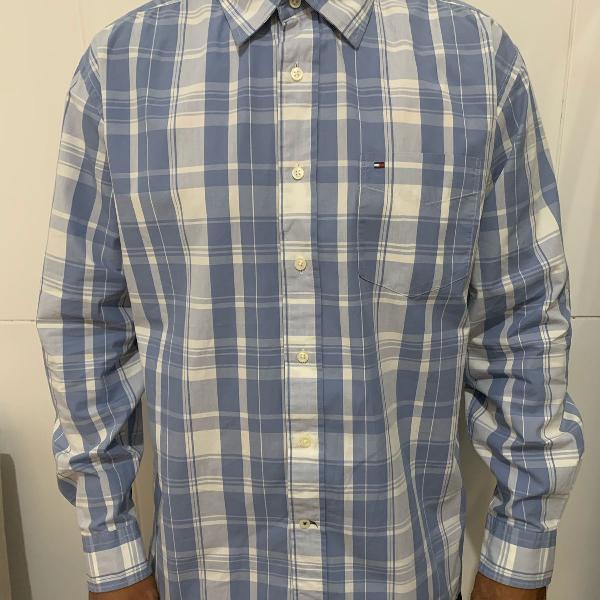 Camisa social masculina tommy hilfiger