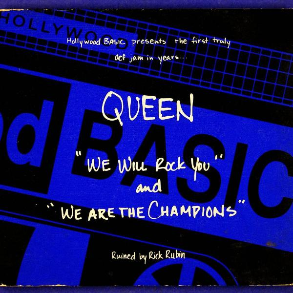 Cd . queen . we will rock you . we are the champion . ruined