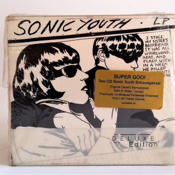 Cd sonic youth goo deluxe edition 2cds importado