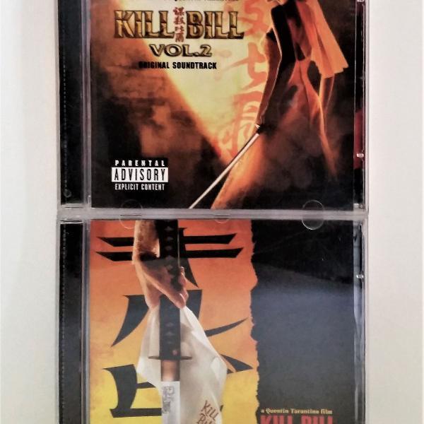 Cd soundtrack kill bill vol.1 + vol.2 quentin tarantino