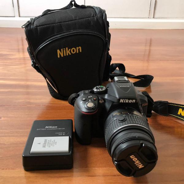 Câmera digital profissional nikon d5300