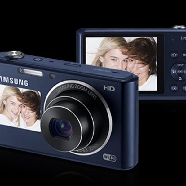 Câmera digital samsung - modelo dv150f - 16.2 mp