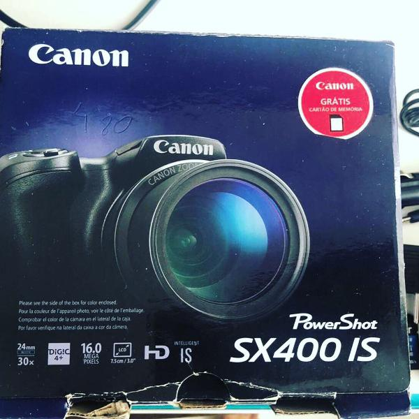 Câmera fotográfica canon powershot sx 400is