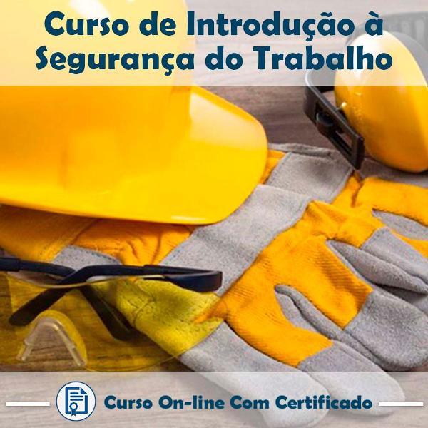 Curso online de introdução à segurança do trabalho com