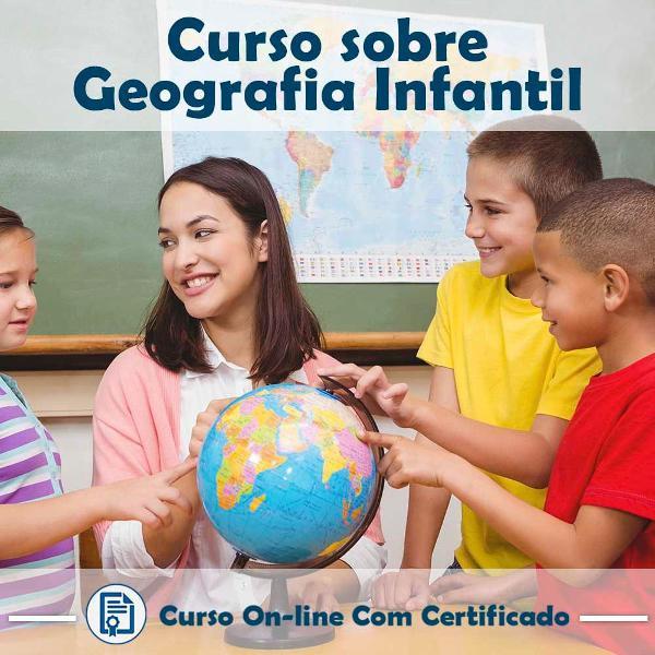 Curso online em videoaula de geografia - infantil com