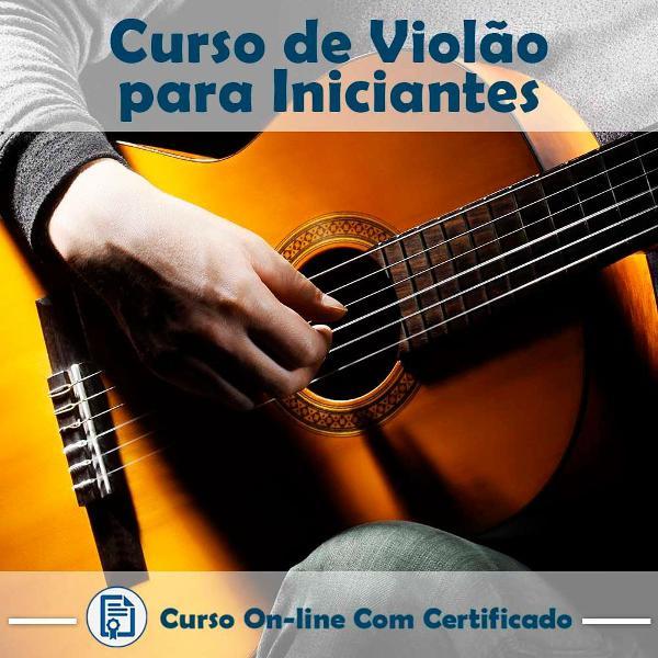 Curso online em videoaula de violão para iniciantes com
