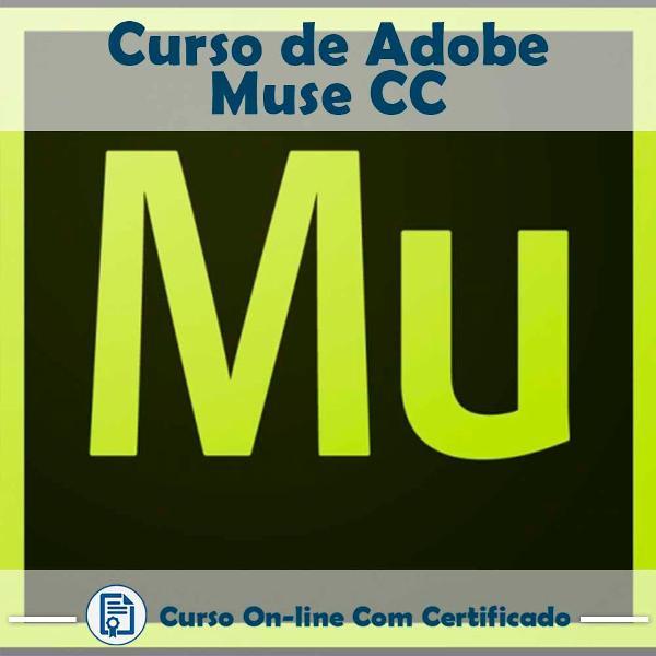 Curso online em videoaula sobre adobe muse cc com