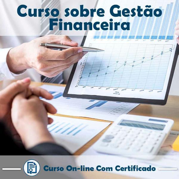 Curso online em videoaula sobre gestão financeira com