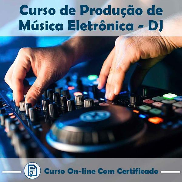 Curso online em videoaula sobre produção de música