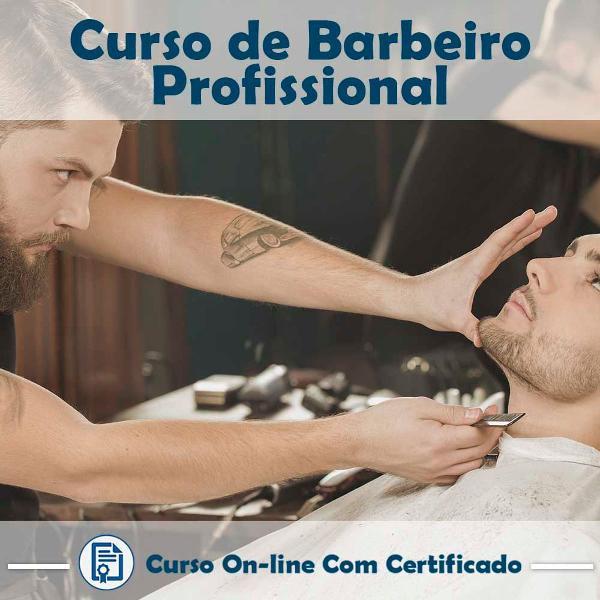Curso online em videoaula torne-se um barbeiro profissional