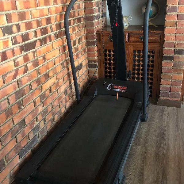 Esteira caloi fitness cl 5002 funcionando