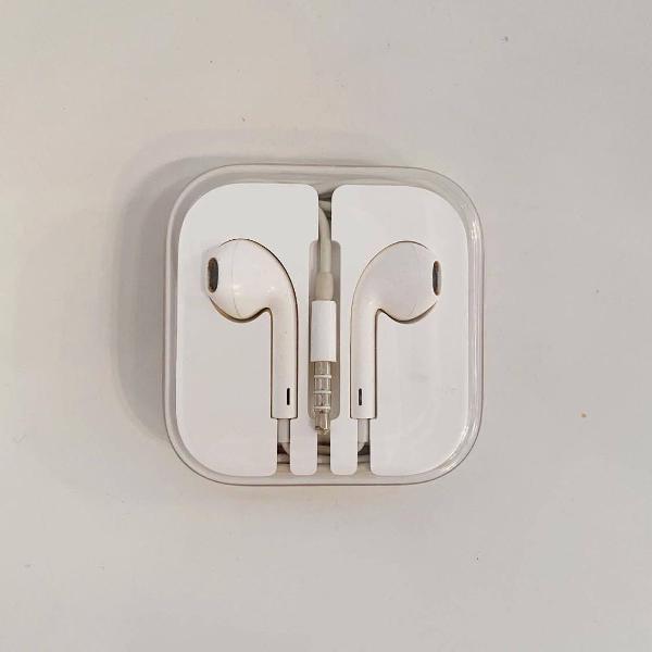 Fone de ouvido original apple - iphone 5s se 6 6s 6plus