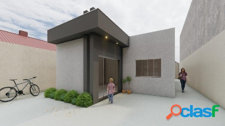 Planalto |casa moderna com 3/4 sendo 1 suite