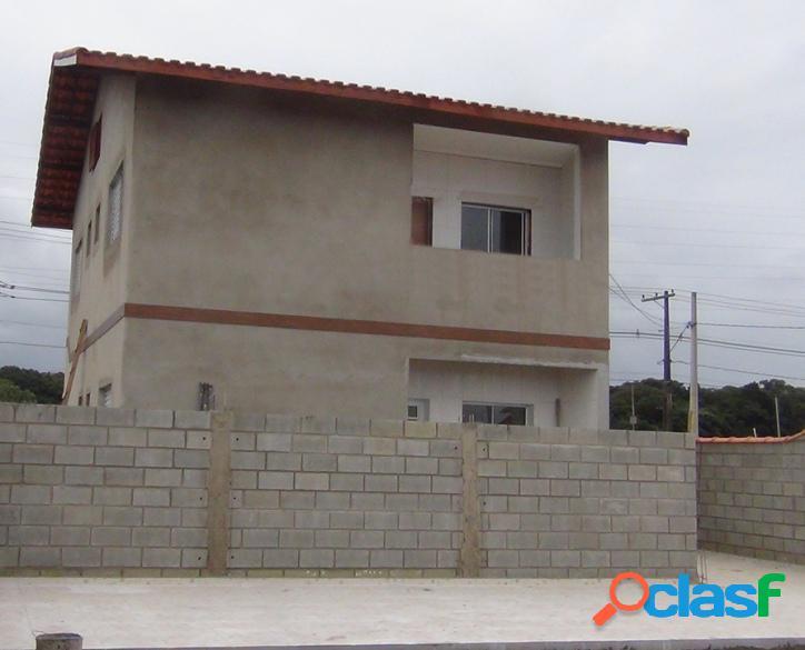 Condomínio fechado casas sobrepostas itanhaém