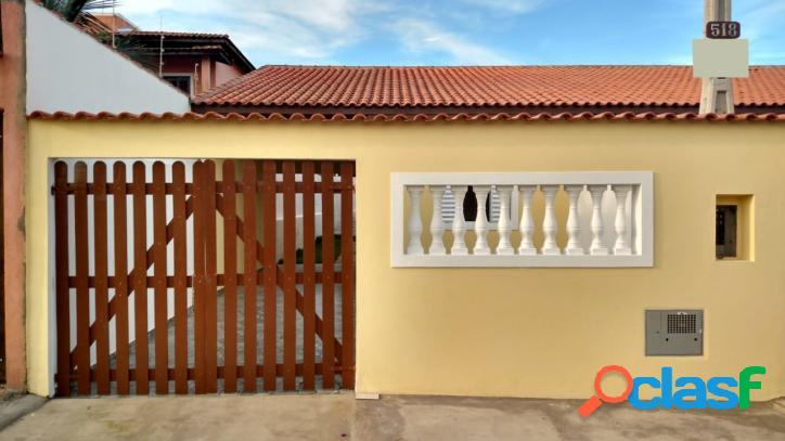 Casa nova 2 dorms - 500m da praia